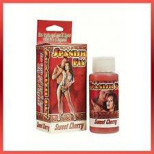 Strong Spanish Fly Love Drops Liquid Enhancer Sweet Cherry Increase Sex Drive