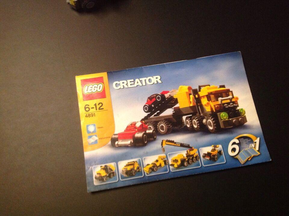 Lego Creator, 4891