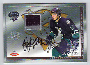03-04-Pacific-Luxury-Suite-Joffrey-Lupul-Auto-Rookie-Card-RC-81-Mint-282-299