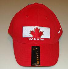 Team Canada 2014 Sochi Winter Olympics Hockey Youth Red OSFM Hat Cap Wool