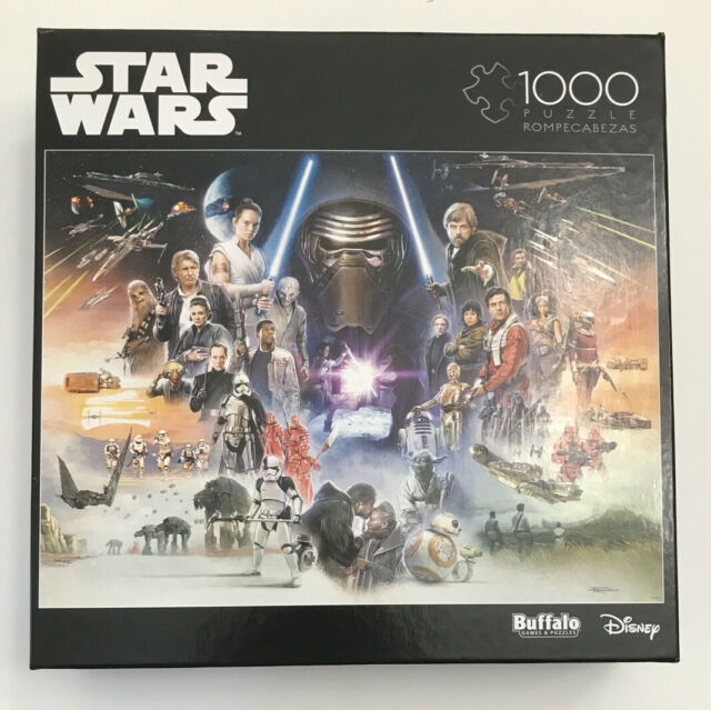 Star Wars If Skywalker Returns the New Jedi Will Rise Puzzle 1000 pc Buffalo NEW