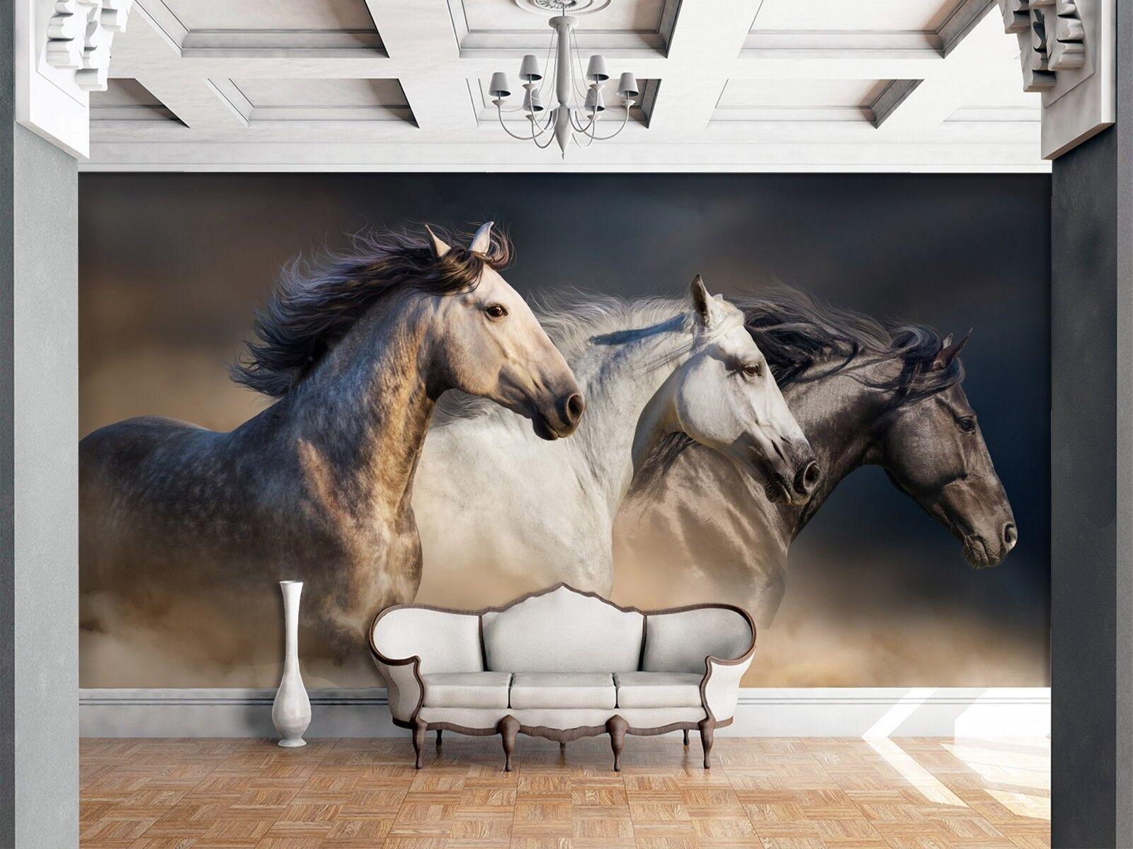 3D Horse Animal 91 Wall Paper Print Wall Decal Deco Indoor Wall Murals US Summer