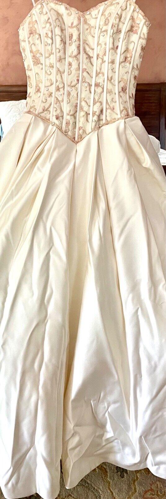 French bustle, corset, vintage, Victorian, Swarov… - image 1