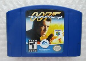 Great 007 The World Is Not Enough Nintendo 64 N64 James Bond