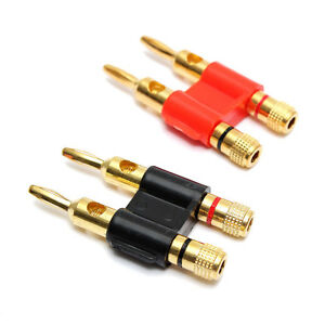 Banana plug connectors