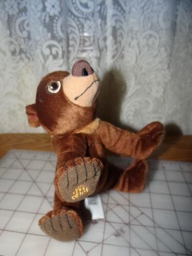 "7"" Disney Brother Bear KODA Bean Plush Stuffed Animal Hasbro Toy"