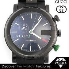 1cf1fe41254 Gucci G-Chrono Chronograph YA101331 Black PVD Stainless Steel 44mm Mens  Watch