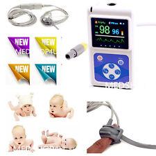 FDA CE neonatale NEONATO pediatria Bambini Nuovi Nati Pulsossimetro Monitor spo2 USB