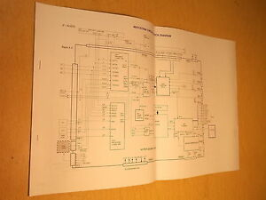 toshiba service manual circuit block diagram 46h84 51h84 57h84 free rh ebay co uk Toshiba 57H84 Problems Toshiba Projection TV