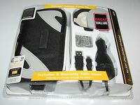 Sony Licensed Psp 2000 Accessory Kit (case, Car Charger, Usb Transfer Cable)