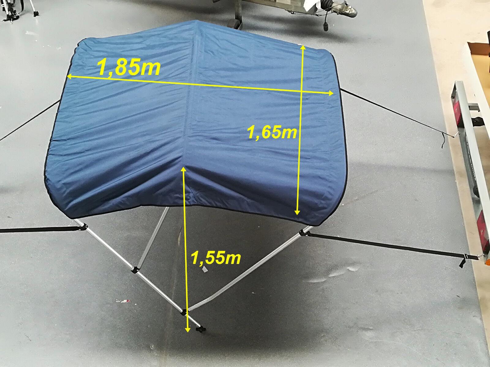 Bimini oder Top für SchlauchStiefele oder Bimini SportStiefele in Blau cfc787