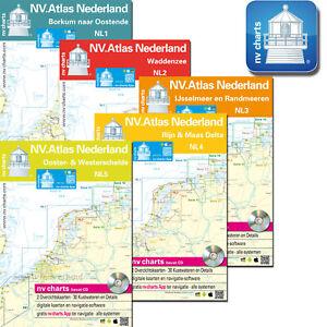 Seekarten Niederlande Nordsee Nv Verlag Nl1 Nl5 Neuste