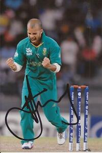 SOUTH AFRICA JP DUMINY SIGNED 6x4 ODI ACTION PHOTOCOA -  SHROPSHIRE, United Kingdom - SOUTH AFRICA JP DUMINY SIGNED 6x4 ODI ACTION PHOTOCOA -  SHROPSHIRE, United Kingdom