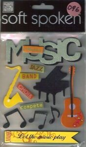 Details about MAKING MUSIC Jazz Band Choir Compete Perform Play Sax Piano  Guitar MAMBI Sticker