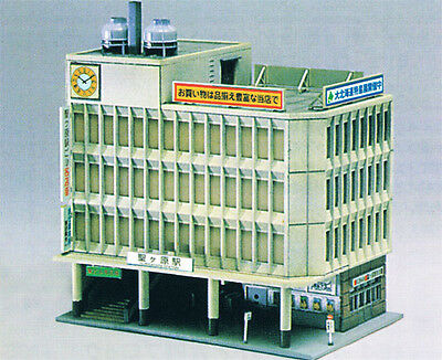 Greenmax No.2132 Mid Size Station Building (1/150 N scale)