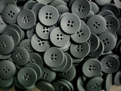 20mm 32L Grey Coat Jacket 4 Hole Satin Sewing Coat Jacket Button Buttons K366