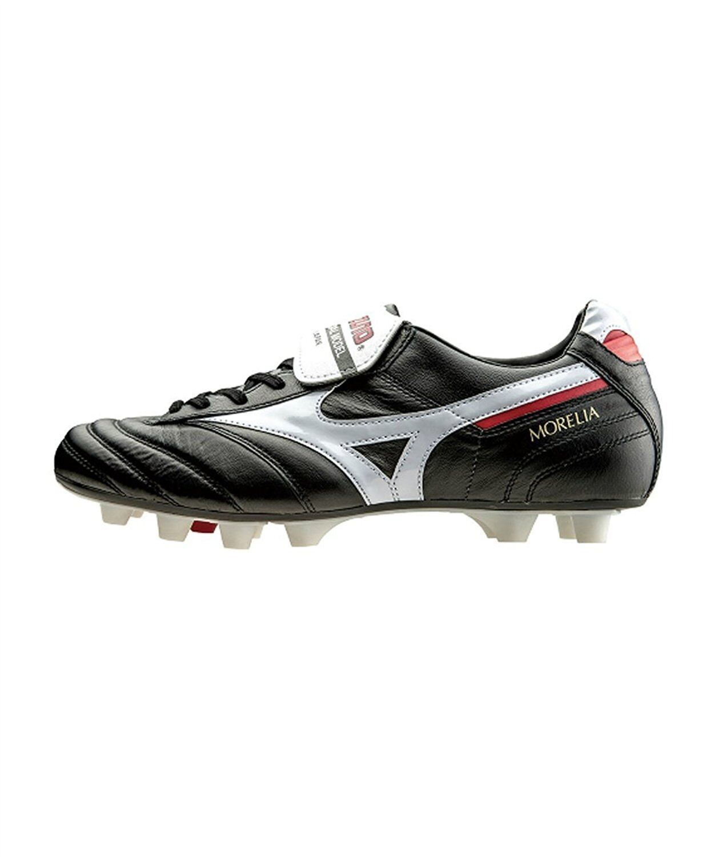 Zapatos de fútbol de pico de Mizuno Morelia 2 P1GA1501 Negro blancoo US6.5 (24.5 Cm)