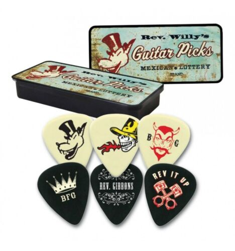 6 mediators Dunlop Rev durs RWT03H Willy/'s
