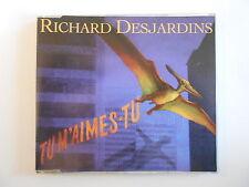 RICHARD DESJARDINS : TU M'AIMES TU (chanteur préférè Renaud) [ CD-MAXI PORT 0€]