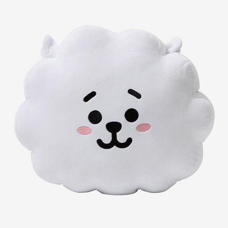 Plüsch Puppe Kissen Kind Spielzeug KPOP BTS BT21 TATA SHOOKY RJ SUGA COOKY JIMIN 5