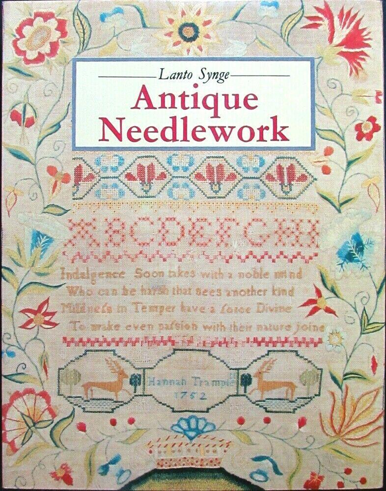 2x Needlework Book  Antique Needlework/Needlework: An Historical Survey-ID6