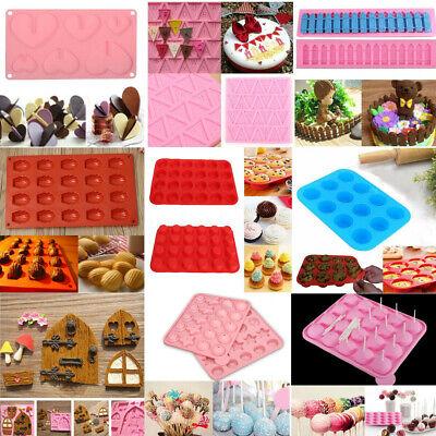 Silicone Fondant Mold Cake Decorating Chocolate Baking Mould Sugarcraft Tool/'DHD