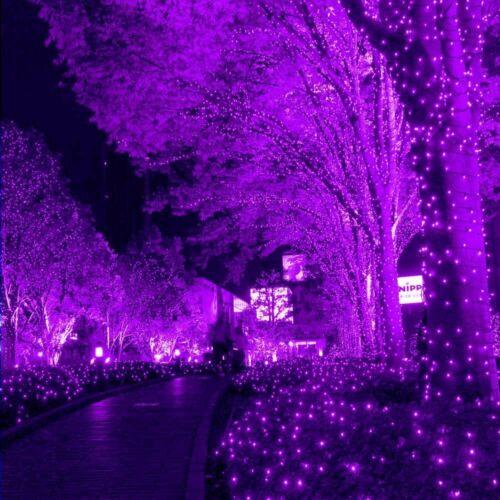 100 LED Solar Powered Fairy String Lights Party Garden Indoor Outdoor Waterproof