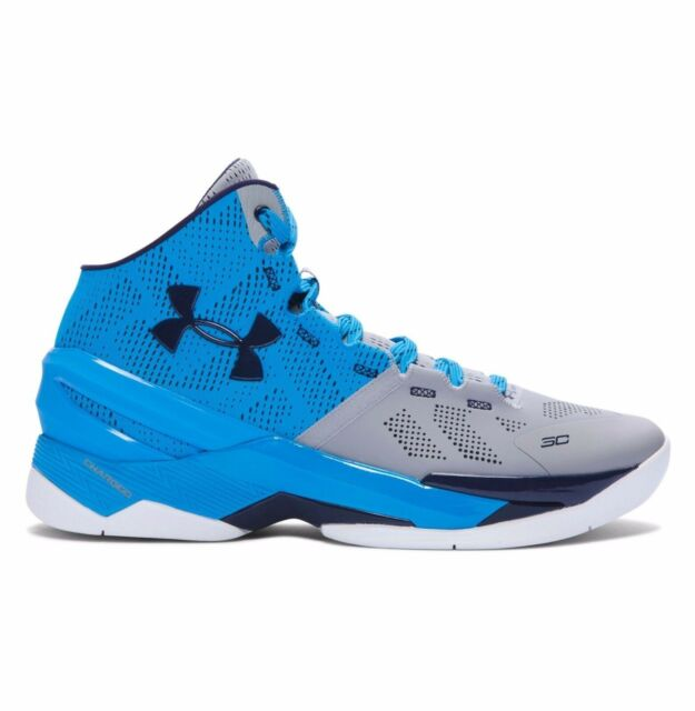buy popular 9ea49 38d8b Under Armour Curry Two Carolina Mens US Size 12.5