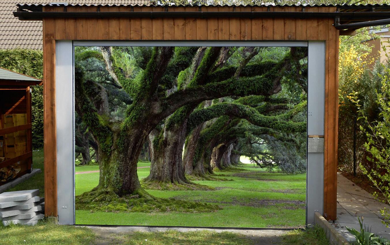3D 3D 3D Ancient trees 0 Garage Door Murals Wall Print Decal Wall Deco AJ WALLPAPER UK 9afb17