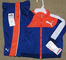 76553d91fb6d Boys Puma Track Outfit (Orange Blue  Jacket  Pants  Macys) - Size 18 mo -New!  Boys Puma Track Outfit (Orange Blue  Jacket  Pants  Macys) - Size 18 mo
