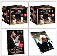 OPERA COMPLETA BOX 10 CD+ 1 DVD COFANETTO LUCIANO PAVAROTTI Grazie Maestro