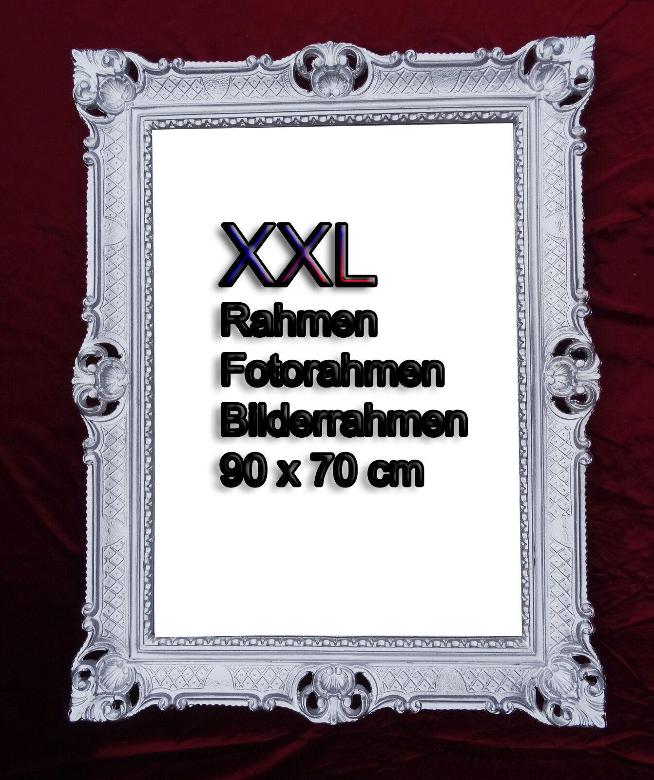 BILDERRAHMEN SCHWARZ GOLD ANTIK BAROCK RAHMEN ROKOKO FOTORAHMEN 90x70 WANDDEKO