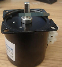 60KTYZ AC Synchronous Gear Motor 220V 14W 8r/min  7mm Shaft Diameter