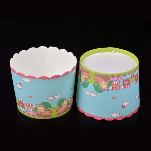 Cupcake Wrappers Cake Paper Cups Muffin Cases Baking Cup Liner Pastry Tool