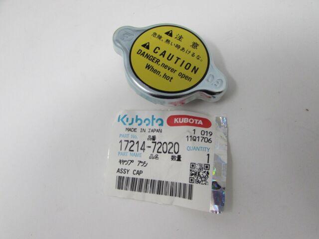 Kubota B1700D B1700E B1700HSD B1700HSE B21 B2100D B2100E B26 Part Cap Radiator