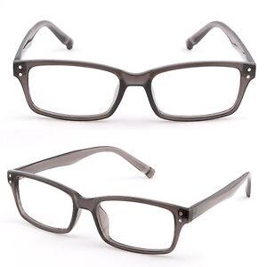 d8c2205a233 Image is loading Light-Rectangular-Men-Women-Plastic-Frame-Glasses-Metallic-