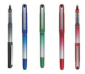 Uni-Ball UB-185S Rollerball Pen Blue 0.5mm Needle Point Pack of 12