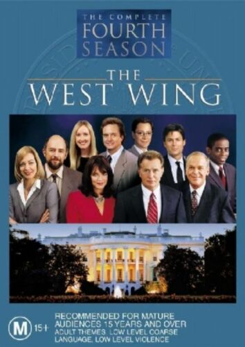 1 of 1 - The West Wing : Season 4 (DVD, 2004, 6-Disc Set) R4 New, ExRetail Stock (D154)