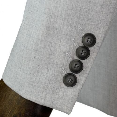 Cavani Veneto Lt Grey Three Piece Suit Blazer-Waistcoat-Trousers