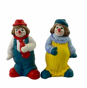 pepper Vintage bisque porcelain salt or sugar shaker vintage clown