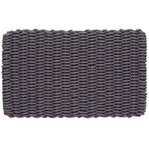 Turtle-Mat-Moissisure-Resistant-Cape-COD-Corde-Porte-Tapis-L75-X-W45cm-Slate