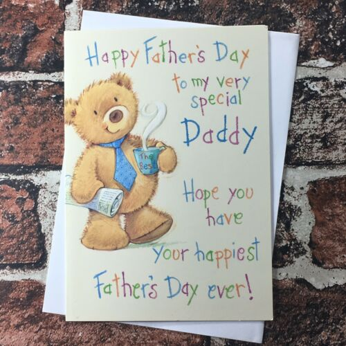 Greeting Card Fathers Day Card Traditional Father's Day Daddy Quality