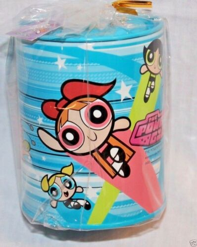 NEW WITH TAGS  BLUE POWERPUFF  COIN BANK