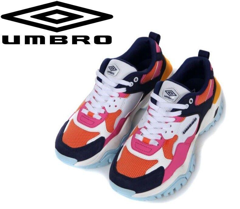 fino al 60% di sconto UMBRO X scarpe Bumpy Dad Dad Dad Ugly Fashion Street scarpe da ginnastica,Limited scarpe rosa   arancia  in vendita