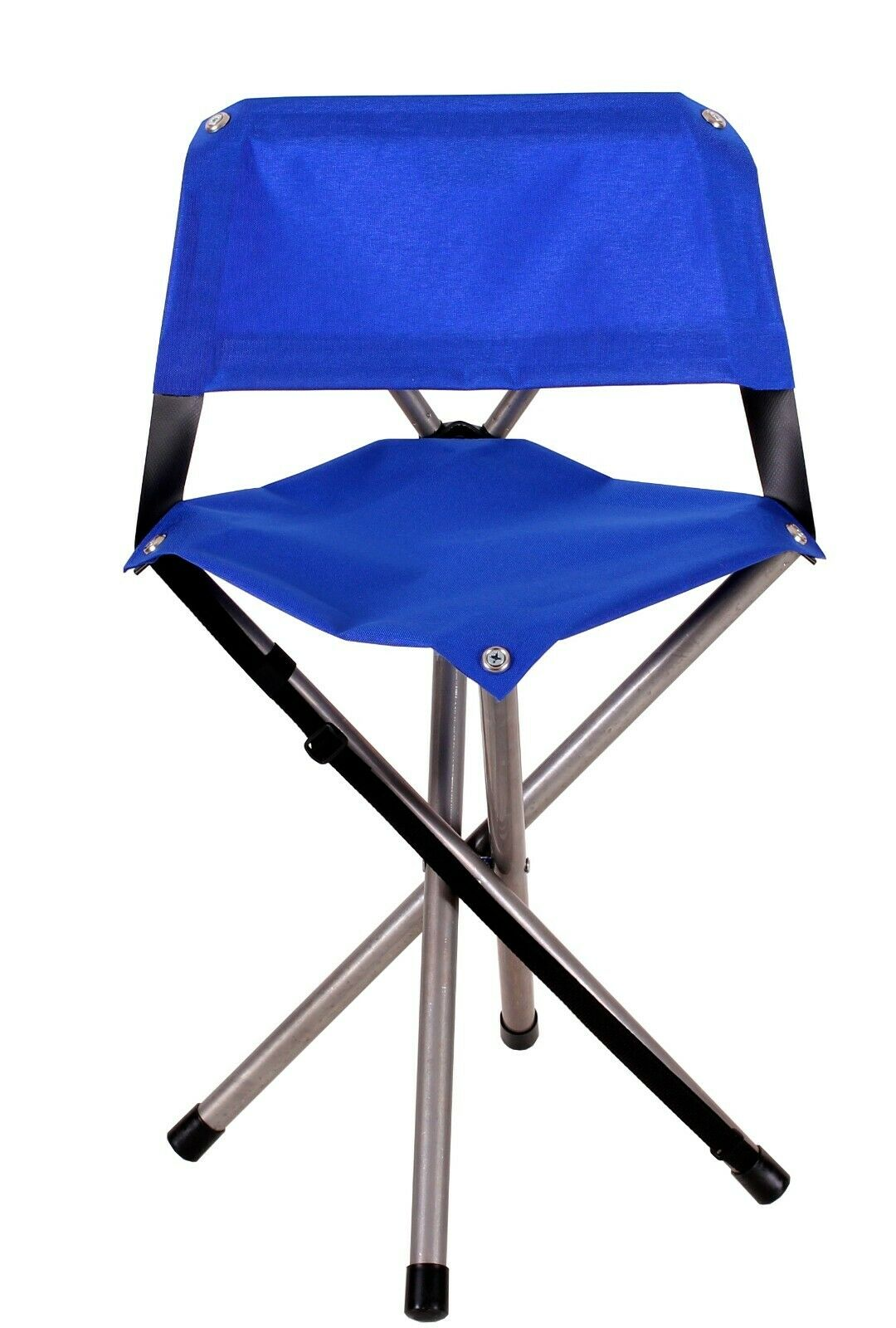 Camp Time Roll-a-Chair bluee Portable Compact Lightweight Camping Chair  USA Made  large selection