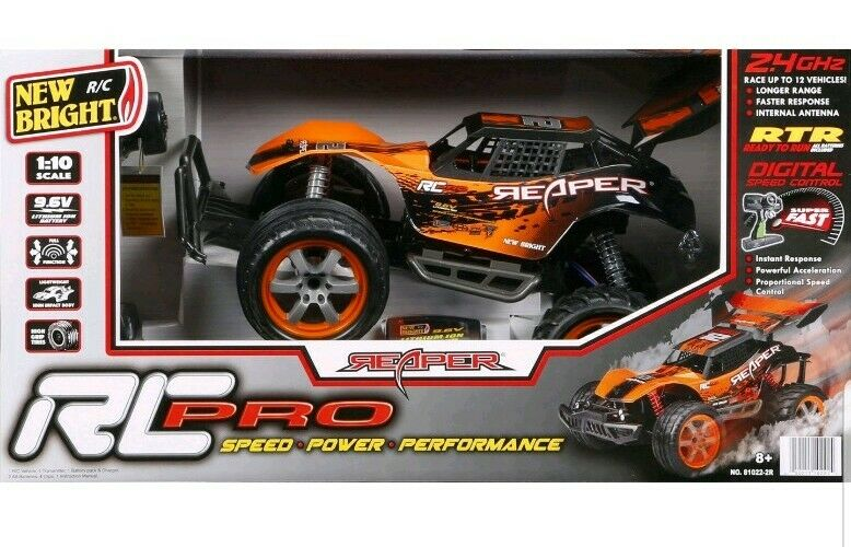 New Brighr 1:10 Radio Control Pro Reaper, Orange RC