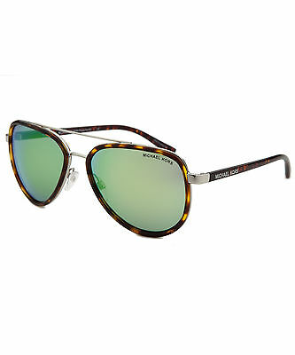 Michael Kors MK5006-CL-10373R Women's Playa Norte Aviator Silver-Tone &
