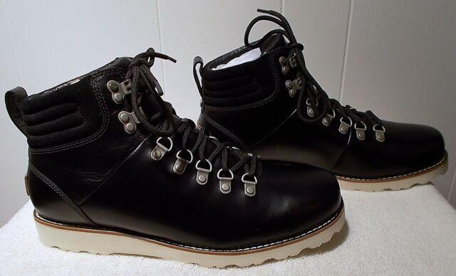 4edfe83717a UGG Australia Men's Capulin Hiking Leather Boots- Choose Sizes Black 13 1001