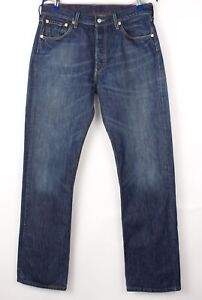 Levi's Strauss & Co Hommes 501 Jeans Jambe Droite Taille W34 L34 BBZ478