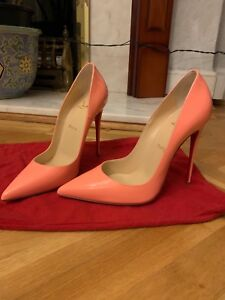4b753c13da4 Details about 100% Authentic So Kate Christian Louboutin pink flamingo  shoes- New with box